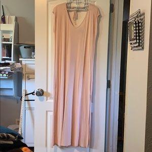 Forever 21 long dress with slit sides